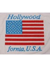 Modern Summer American Flag Short Sleeve T-shirt