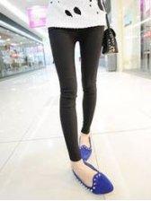 Hot Sale Pure Color Slim Fit Stretchable Leggings