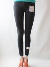 Hot Sale Pure Color Cute Cat Black Leggings