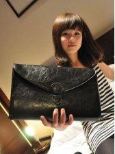 New Korean Pocket Clutch Bag With Strap