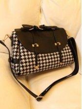 New Fashion Plaid One Shoulder Bags