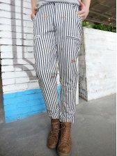Men Fashion Designed Twill Casual Long Pants