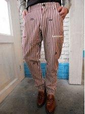 Stylish Men Fashion Striped Casual Long Pants