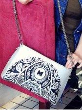 Hot Sale Flower Pattern One Shoulder Bag