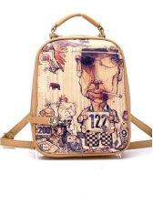 New Fashion Cartoon Pattern Backpack