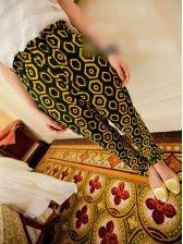 New Fashion Circle Print Pocket Harem Long Pants