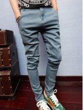 Summer Fashion Men Low Waist Denim Jeans