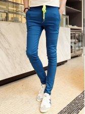 New Men Fashion Design Slim Fit Casual Long Pants