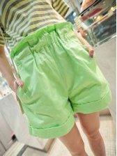 Modern Girl Empire Waist Pocket Short Pants