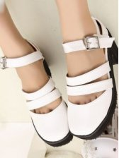 Summer Fashion Girl Hollow-out PU Sandals