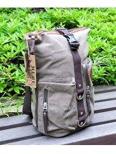 Men's Multi-function Pockets Designed Canvas Bag