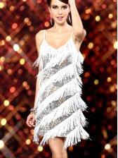 Hot Summer Sexy Dancer Sequin Studded Dress