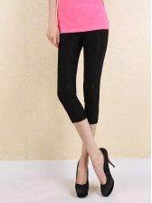 Modern Trendy Natural Waist Lace Leggings
