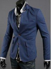 New Fashion Stand Collar Big Pocket Suit