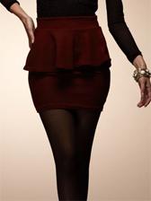 Modern Elegant Empire Waist Flounce Skirt