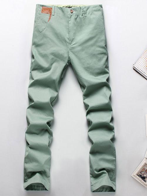 Modern Autumn Solid Color Cotton Harem Long Pants