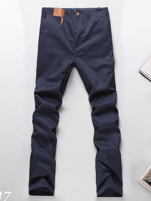 New Arrival Solid Color Cotton Harem Long Pants