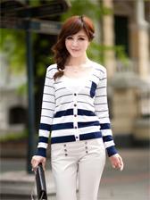 2013 Korean Woman V-Neck Long Sleeve Coat