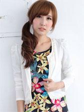 Latest Designs Beading Lace Patchwork Long Sleeve Short Coats