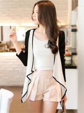 Women Fashion Front Open Cozy Short Coat
