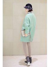 Korean Trendy Two Button Pocket Lapel Coat