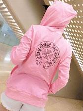 Street Fashion Print Front Zipper Long Sleeve Hooded Hoodies