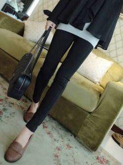 Fall Fashion Solid Color Skinny Pencil Leggings