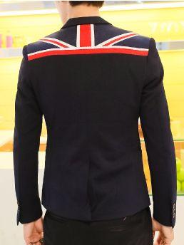 Brand New Union Jack Trim Collar Slim Fit Suit