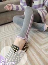 Korean Style Slim Leg-Line Cotton Cozy Pure Color Leggings