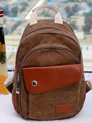 Vintage Fashion Style Canvas School Shoulder Bags