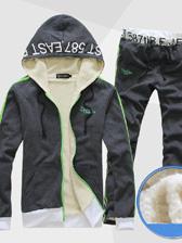 Casual Men Hooded Color Block Printings Sport Hoodies Activewear