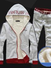 Fashion Printings Hooded Color Block Men Casual Hoodies Activewears