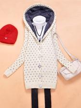 2013 Korea Style Single Breasted Long Thickening Coats