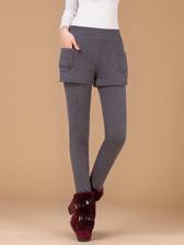 Wholesale Hot Sale Fashion False Two Piece Slim Waist Long Pants