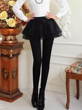 On Sale Promotion Plus Velvet Bubble Skirt Boot Cut Pants