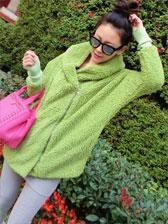 2013 Cute Wool Hooded Zipper Pure Colour Long Sleeve Short Tops