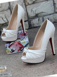 Latest Fashion Korean Sweet Peep Toe All Match Thin Heel Platform High Heels