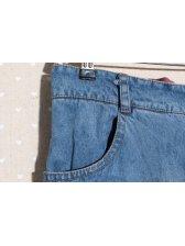 Unique Style Asymmetric Washing Color Block Mid Waist Zipper Up Fitted Long Harem Pants