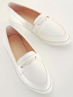 2014 Preppy Look Women Shoes Simple Design Low Cut Point Toe Style Flat Rubber  Leisure Wear Women Shoes