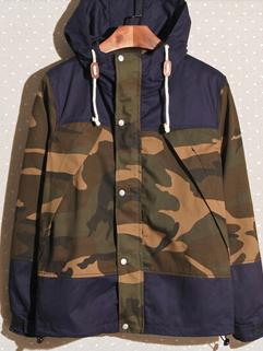 2014 Autumn Winter New Coming Men Coat Individual Adorable Hooded Neck Zipper Long Sleeve Camouflage Coat M-XXL