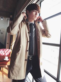 2014 Fashion City Long Coats Pure Color Button Long Sleeve Lapel Casual Khaki Coats M-XL