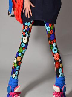 Wholesale Japanese Panting Leggings Colorful Cheap Cloth Autumn Active Wear