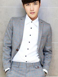 2014 New Attractive Coats Color Block Plaid Pattern Long Sleeve Lapel Casual Gray Coat M-XXL