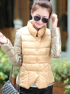 2014 Winter Wear Women Warm Coat With Velvet Must Having Item Size M-XXL Out Going Wear Coat