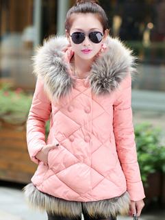 New Collection Item Women Warm Coat With Velvet Winter Deals Style Size M-XXL Leisure Wear Coat