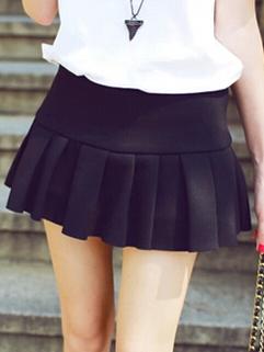 Korean Chic Cute Women Pants Skirts Mini Length All Matching Preppy Look Style Autumn Wear Pants