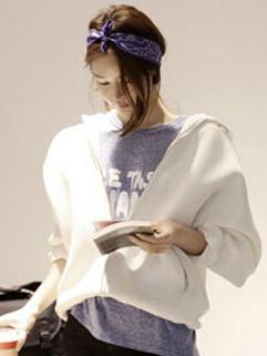 2014 Autumn Plus Size Winter Coats Pure Color Long Sleeve Coats Casual Hooded Coats S-XL