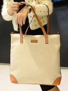 2014 Autumn New Fashion Totes Versatile Attractive Zip Up Mid Soft Khaki Women Totes