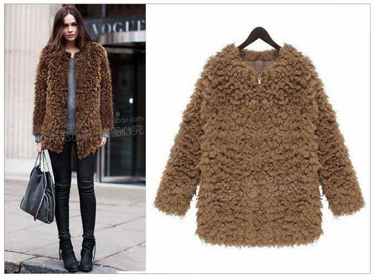 Hot Selling Wholesale Coats Solid Color Long Sleeve Cardigan Woolen Comfortable Coats