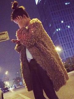 2014 Simplicity Style Long Sweater Cardigan Pure Color Casual Loose Camel Women Sweater
